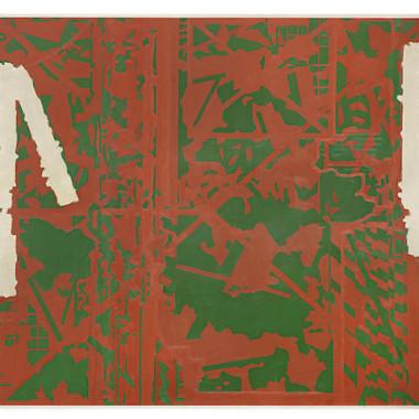 Prunella Clough - Gate II, 1978-79