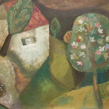 Gwyneth Johnstone - Tree and House