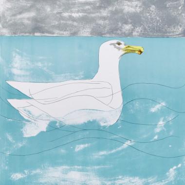 Elisabeth Frink - Herring Gull, from Seabirds, 1974