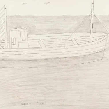 Bryan Pearce - Fishing Boat (Crabber), c 1962