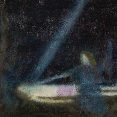 Craigie Aitchison - Lamentation, 1963