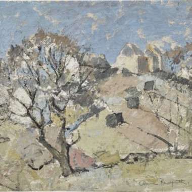 Anne Redpath - Hillside Farm, c1940s