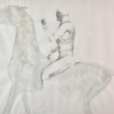 Elisabeth Frink - Horse and Rider, 1969
