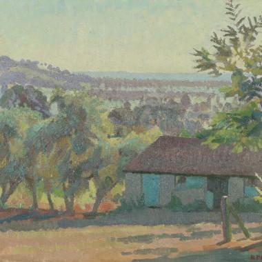 Ruth Doggett - Evening, Somerset, August, 1933