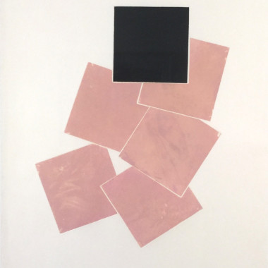 Stephen Buckley - September Suite (Pink and Black), 1977