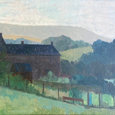 Lawrence Toynbee - Morning in the Eden Valley, c 1950