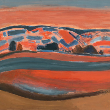 Henri Hayden - Les Collines (The Hills), 1968