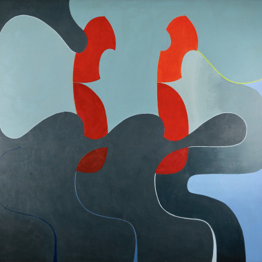 Bryan Wynter - Red Double, 1969
