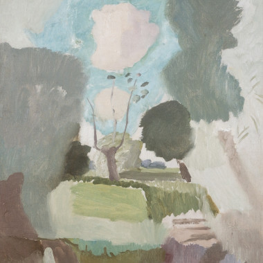 Ivon Hitchens - Willow and Watermeadow, Suffolk, circa 1930