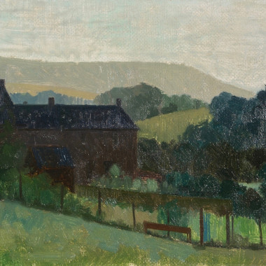 Lawrence Toynbee - Morning in the Eden Valley (Cumbria), c 1960s