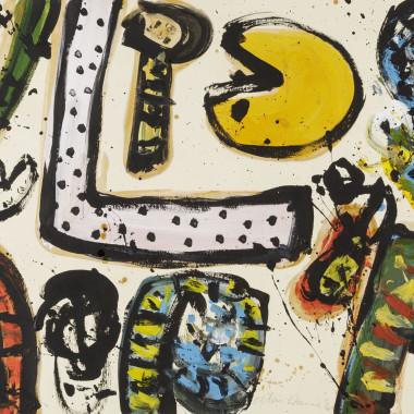 Alan Davie - Abstract Composition I