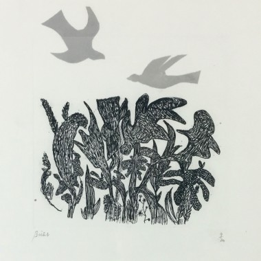 André Bicât - Birds over Wood