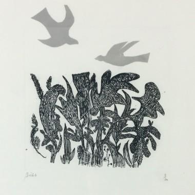 André Bicât - Birds over Wood