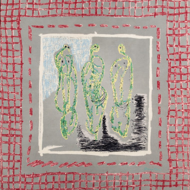 Henry Moore - Three Standing Figures, for Ascher, 1944 circa