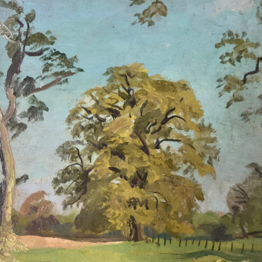 Stephen Bone - Untitled (Oak Tree), c 1930s