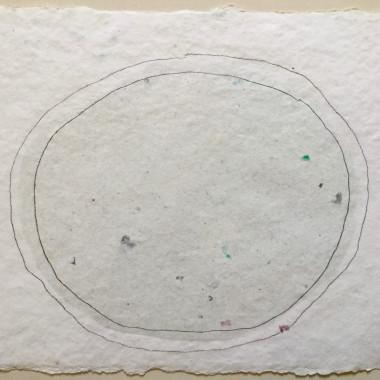 Kenneth Noland - PG-0101 (Handmade Paper), 1978