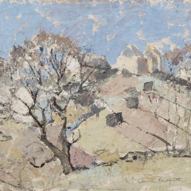 Anne Redpath - Hillside Farm, 1944 circa