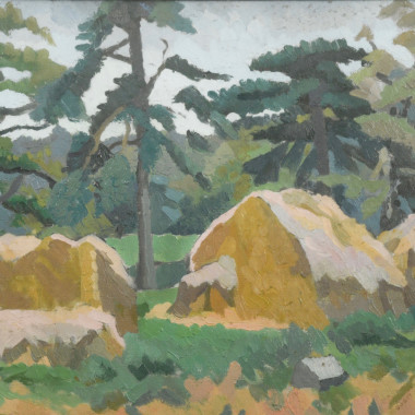 Ruth Doggett - Haystacks (Long Melford, Suffolk), 1938