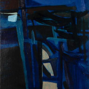 Bryan Wynter - Blue Landscape, 1953