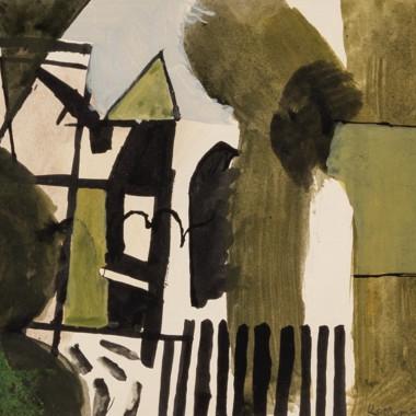Keith Vaughan - Untitled, 1952-53 circa
