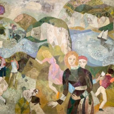 Gwyneth Johnstone - Pastoral Landscape
