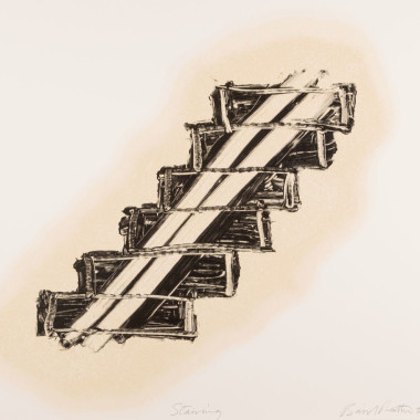 Basil Beattie - Stairing, 2001