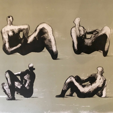Henry Moore - Four Reclining Figures, 1974-75