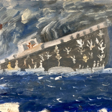 James Dixon - The Sinking of the (Ti)tanic, 1969