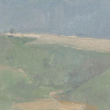 Martin Yeoman - Distant View of Win Green, Dorset