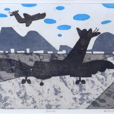 Julian Trevelyan - Runway, 1973