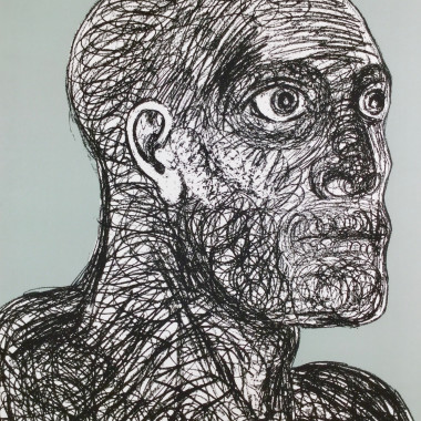 Elisabeth Frink - Head I (Wiseman 143), 1988