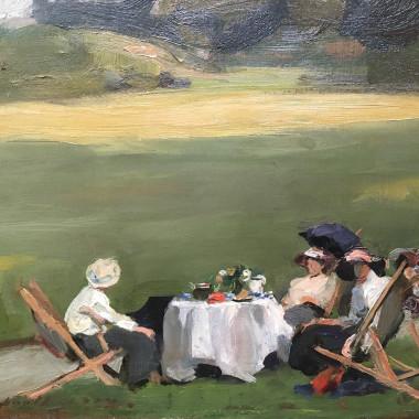 Frank Thomas Copnall - Untitled (Afternoon Tea), 1934(?)