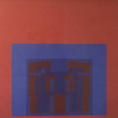 Robyn Denny - Paramount (Red), 1969