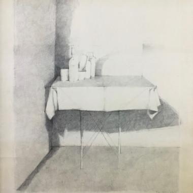William Brooker - Still life on a Table, 1968