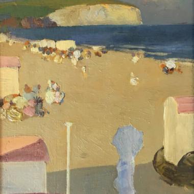 Gerald Festus Kelly - The Beach (Sandown), c 1907