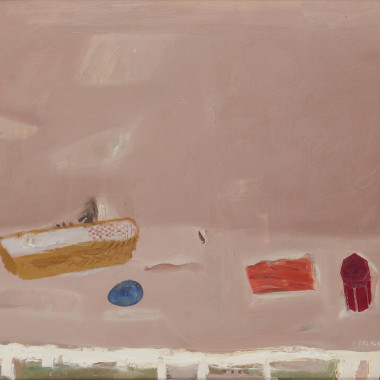 Elizabeth Blackadder - Still life with Basket, 1967