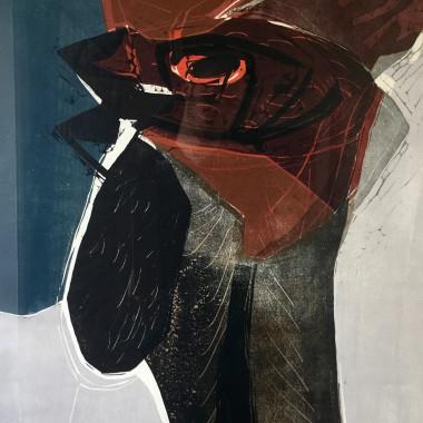 Michael Rothenstein - Cock's Head (Sidey 113), 1959