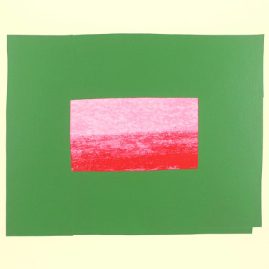 Howard Hodgkin - Indian View I, 1971