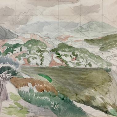John Nash - Mountain Study, c 1953