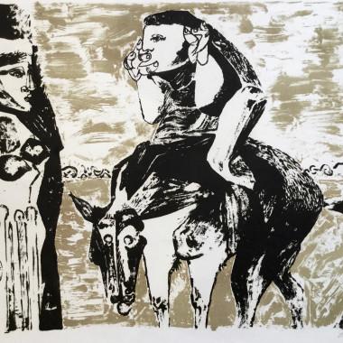 Robert Colquhoun - Man on Horse