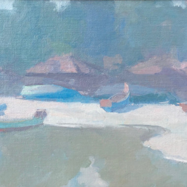 Martin Yeoman - Inlet, Calicut, 2001