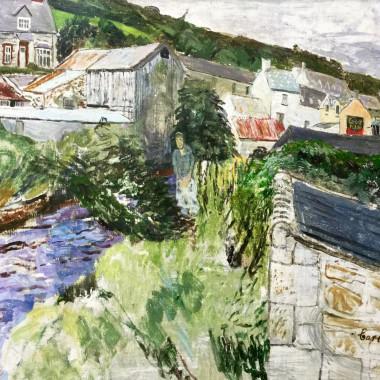 Carel Weight - Irish River, 1963