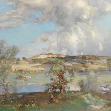 Edward Arthur Walton - Wenhaston, Suffolk, 1913