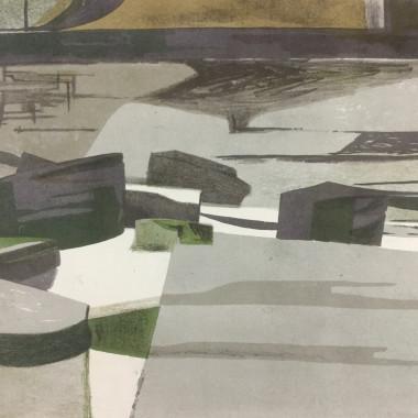 Richard Swaby Platt - Rocks, c 1955