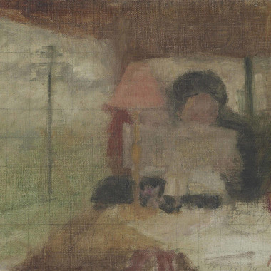 Victor Pasmore - In the Train, c 1939