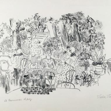 Stella Steyn - A Summer Day, Paris, 1929