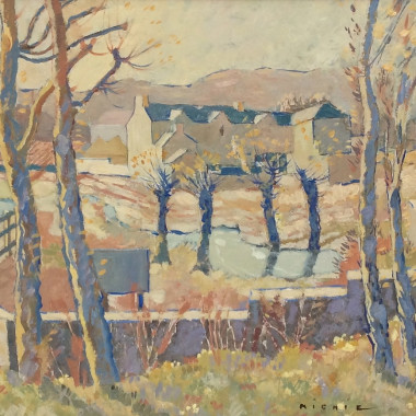 James Beattie Michie - Winter Landscape, c 1935