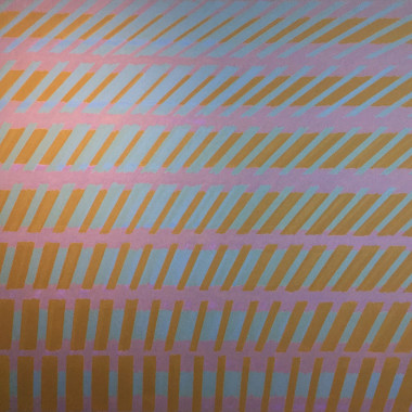 Michael Kidner - Yellow, Blue and Violet No.2, 1963