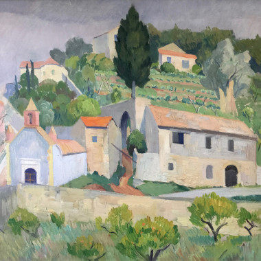 Robin Wallace - France (Village in the South), 1937