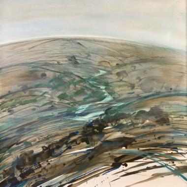 Denis Wirth-Miller - Deserted Valley, 1970-71